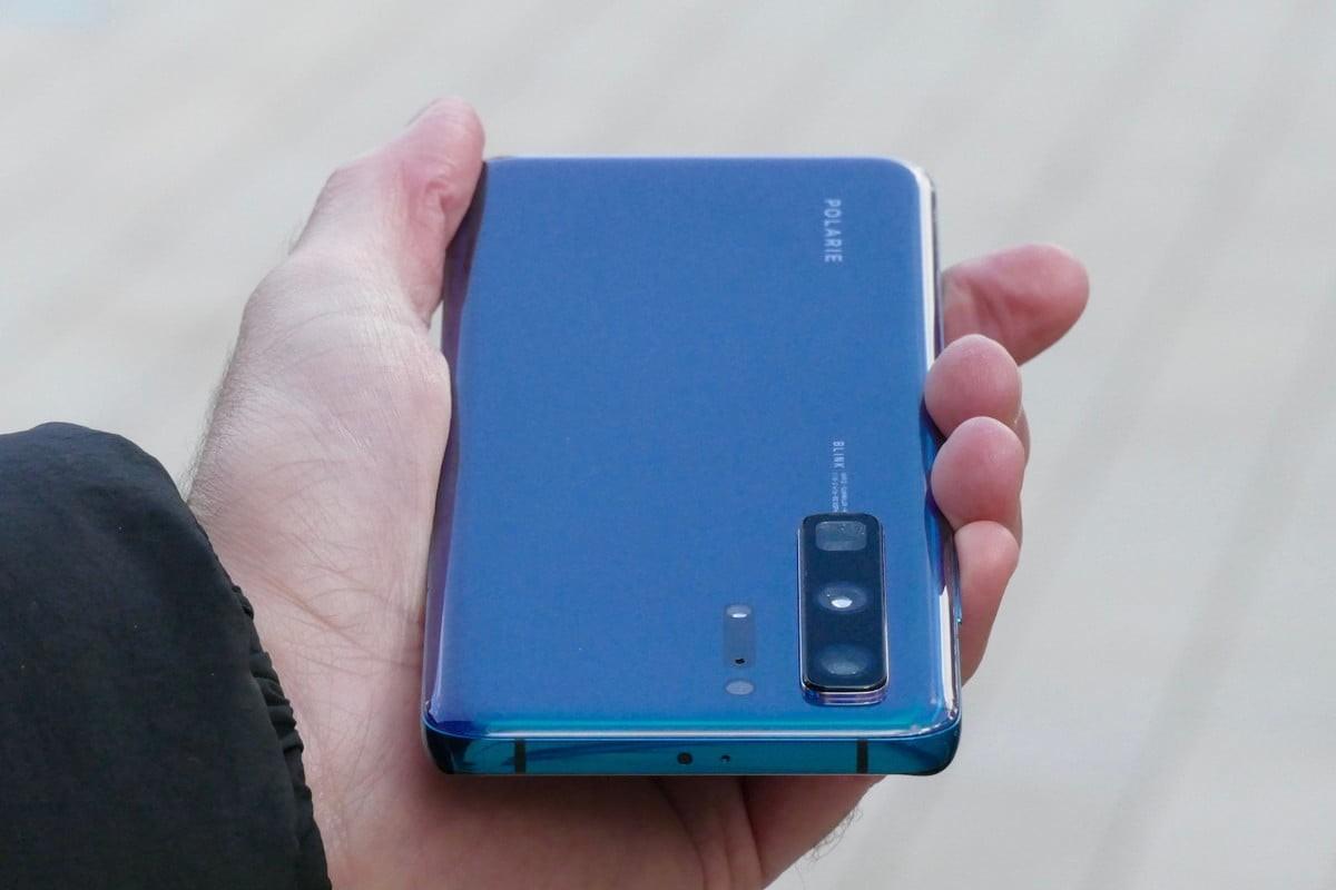 Huawei P40 vrchná strana