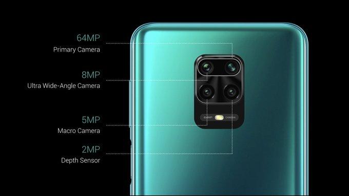 Redmi Note 9 Pro Max fotoaparát