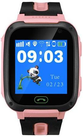 Smart hodinky Canyon v ružovej farbe.