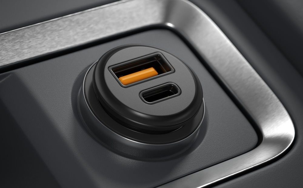 AlzaPower Car Charger C520 Fast Charge príslušenstvo pre Galaxy A70