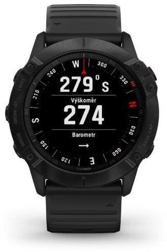 smart hodinky Garmin Fenix 6X Glass výškomer
