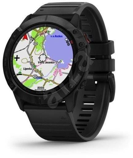 smart hodinky Garmin Fenix 6X Glass mapy