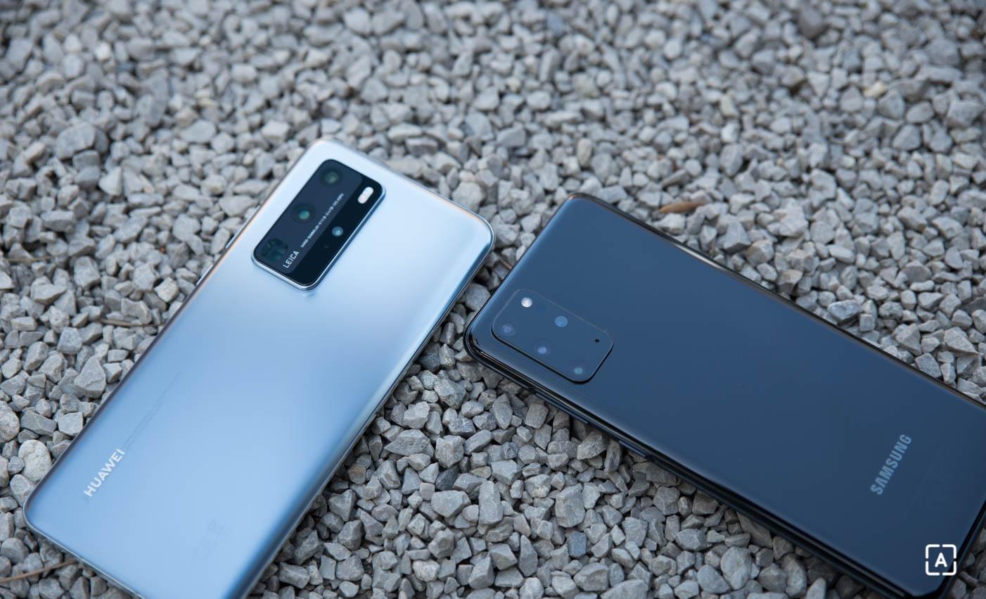 Huawei P40 Pro vs Samsung Galaxy S20+3