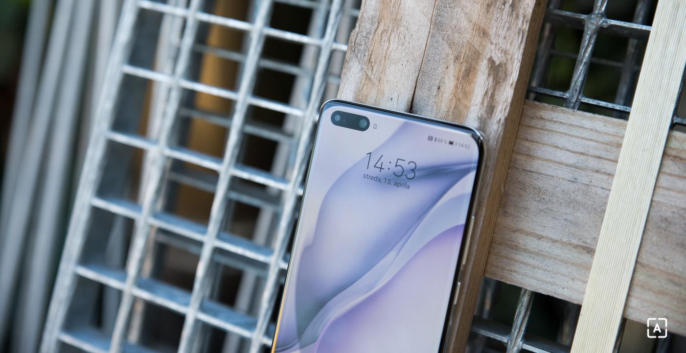 Huawei P40 Pro vyrez displej