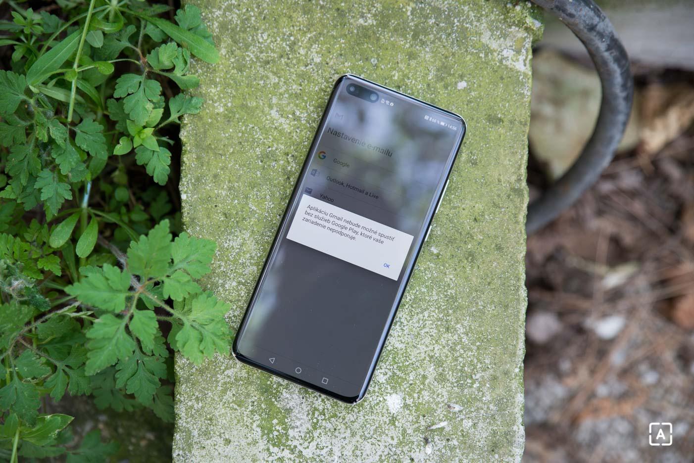 Huawei P40 Pro Gmail google fotky