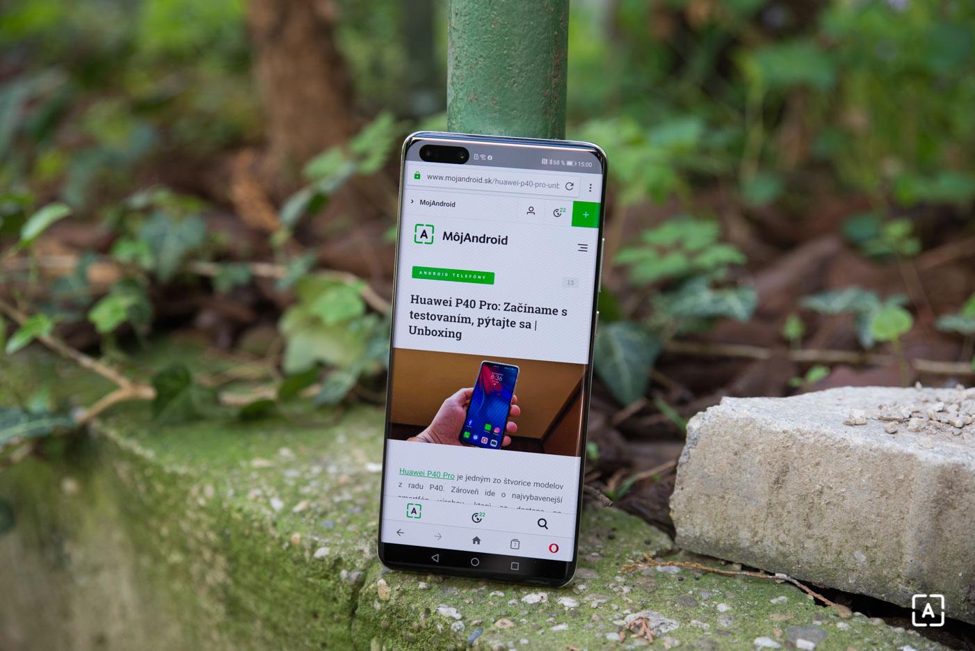 Huawei P40 Pro prehliadac