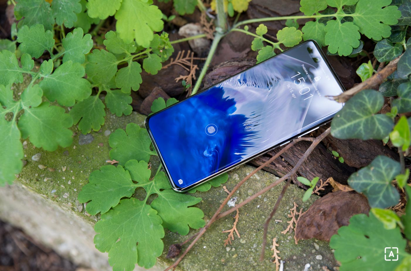 Huawei P40 Pro snimac odtlackov prstov