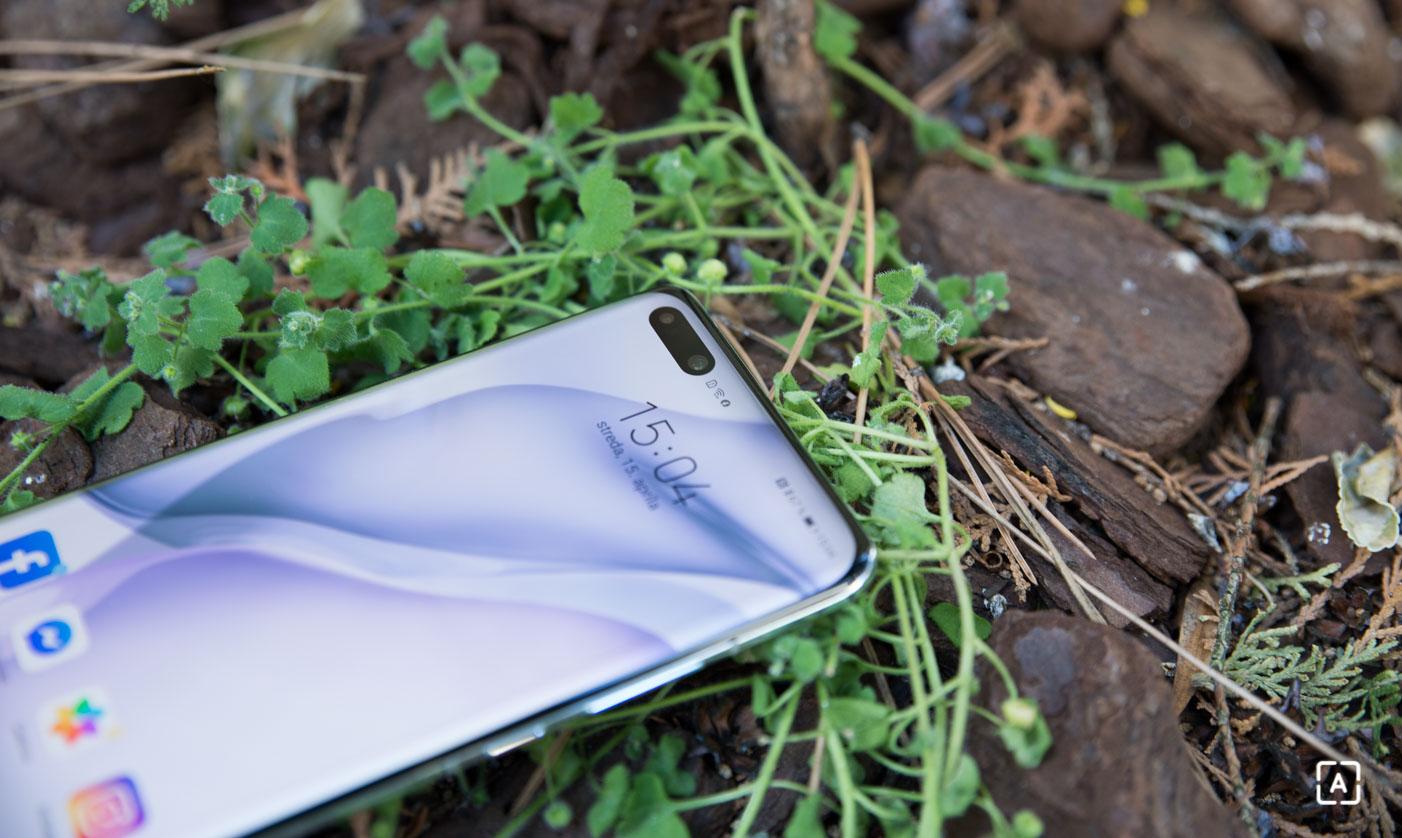 Huawei P40 Pro displej