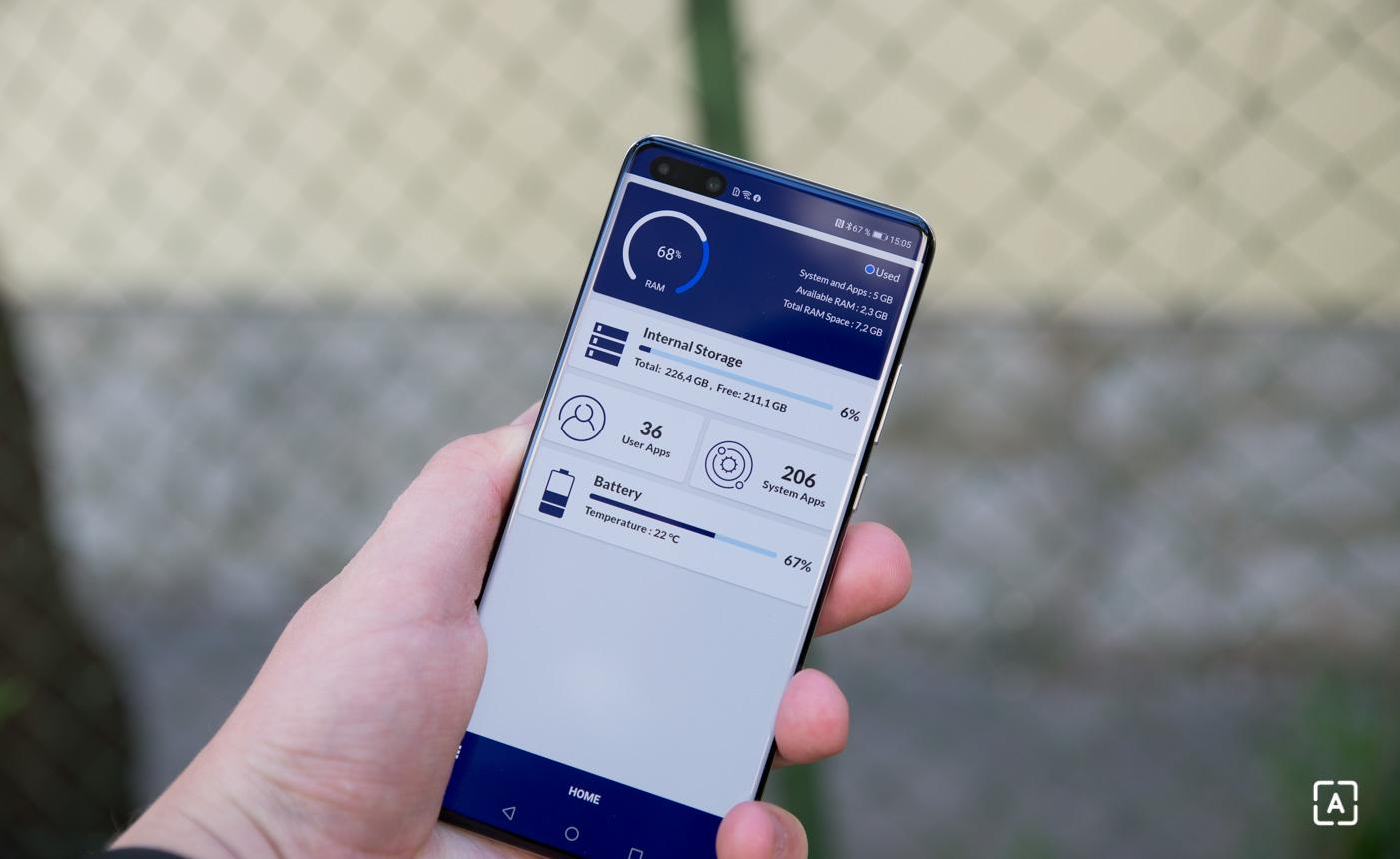 Huawei P40 Pro pamat