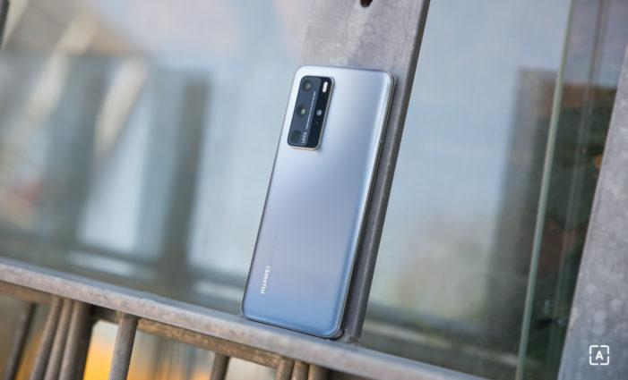 Huawei P40 Pro zadna matna strana
