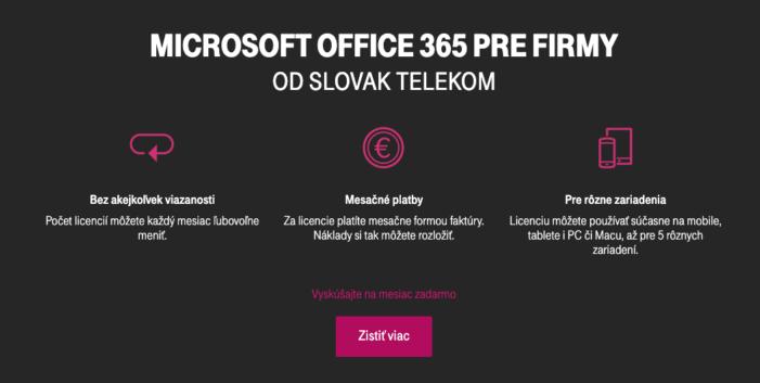 Microsoft teams Telekom ponuka