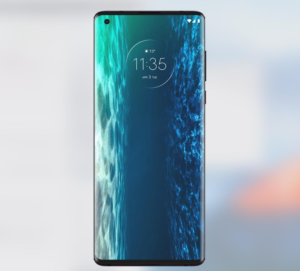 Motorola edge displej
