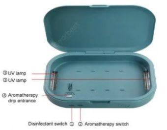 UV krabicka