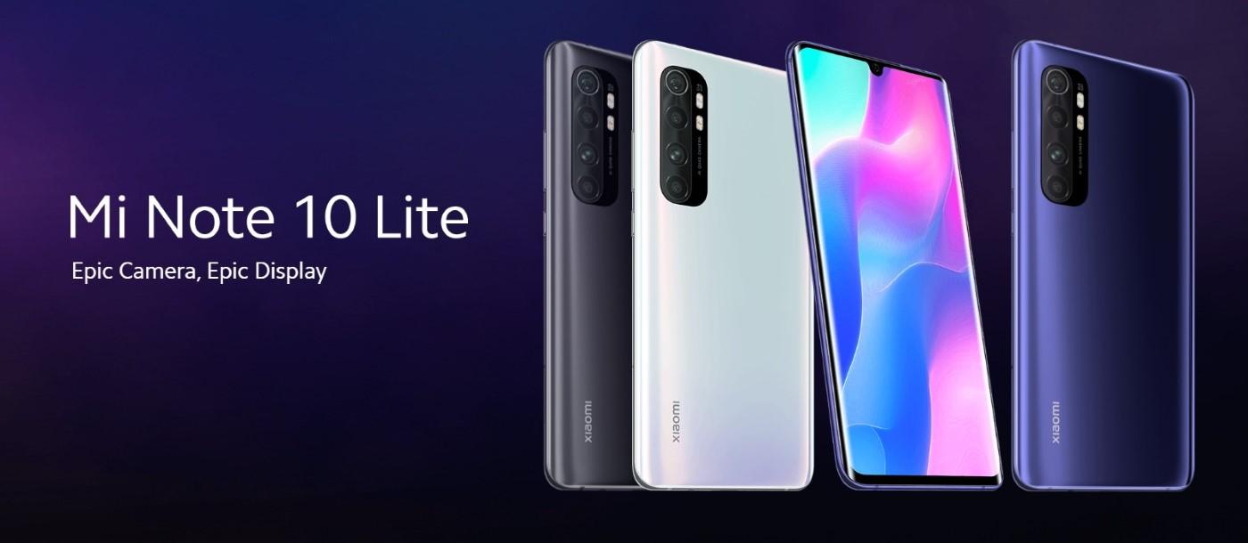 Xiaomi Mi Note 10 Lite titulka