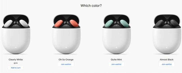 Pixel Buds farebné verzie