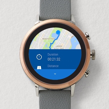Fossil Venture HR mapy
