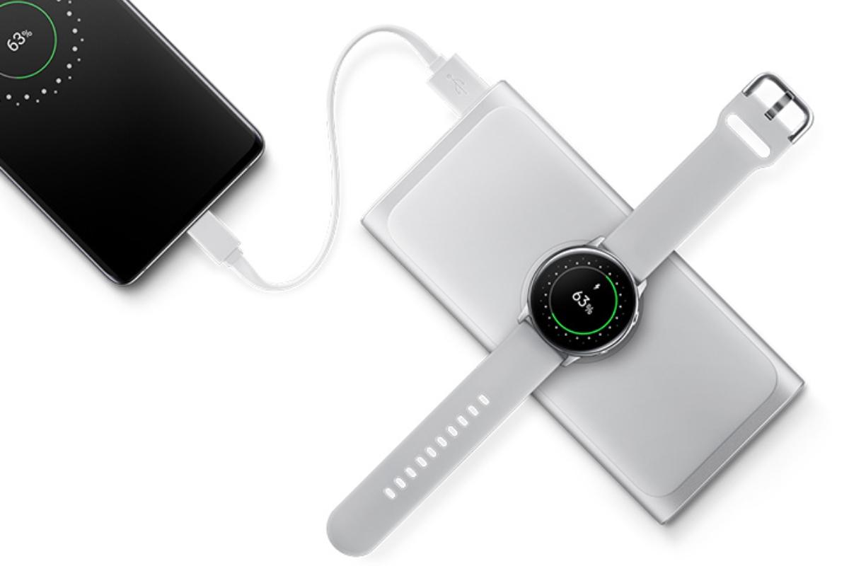 Samsung Wireless Battery Pack 10000 mAh Silver hodinky príslušenstvo pre Galaxy A70
