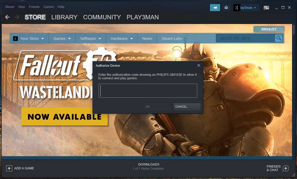 steam android tv