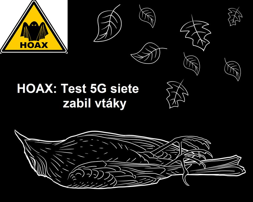 5g testy zabili vtákov hoax