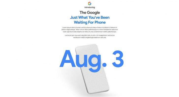 Google Pixel 4a dátum predstavenia