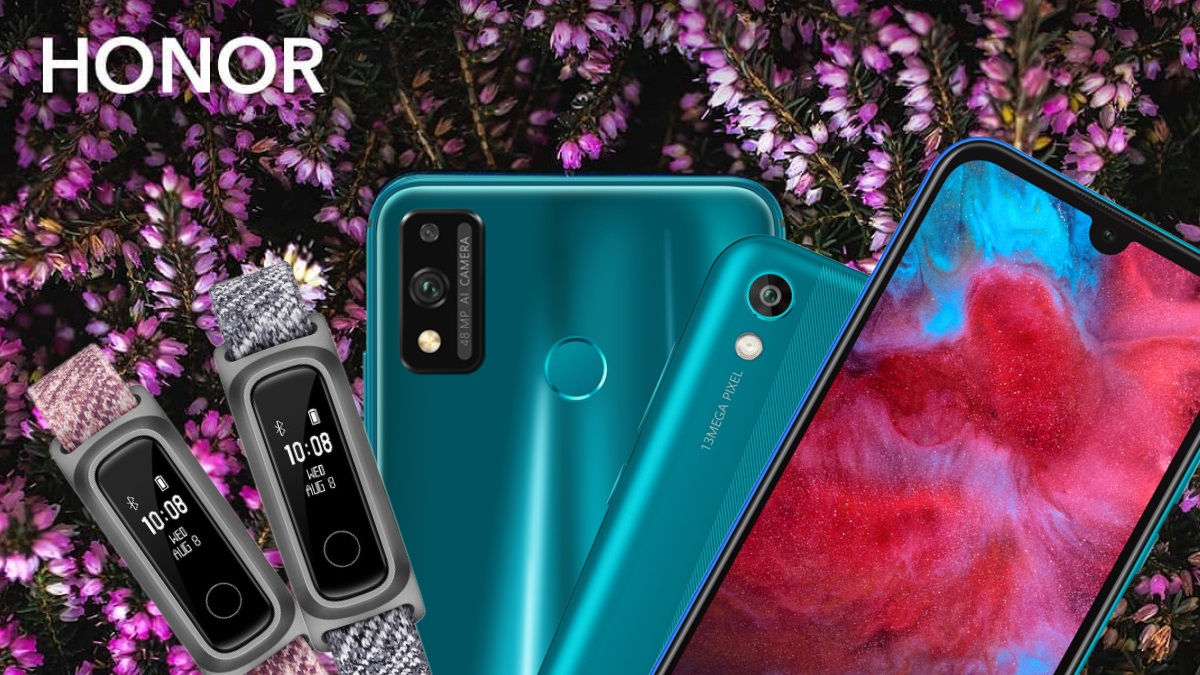 Honor 9X Lite, Honor 8S 2020, Honor Band 5 Sport