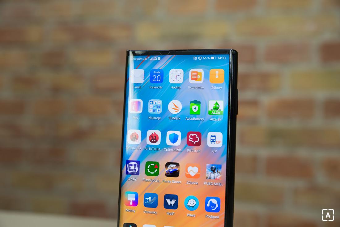 Huawei Mate Xs displej