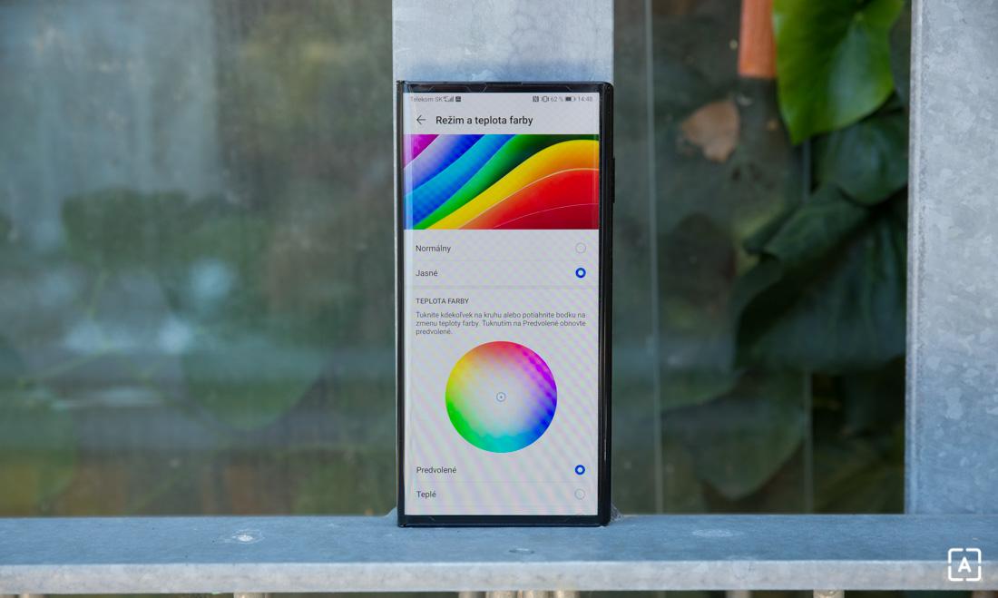 Huawei Mate Xs nastavenia displeja