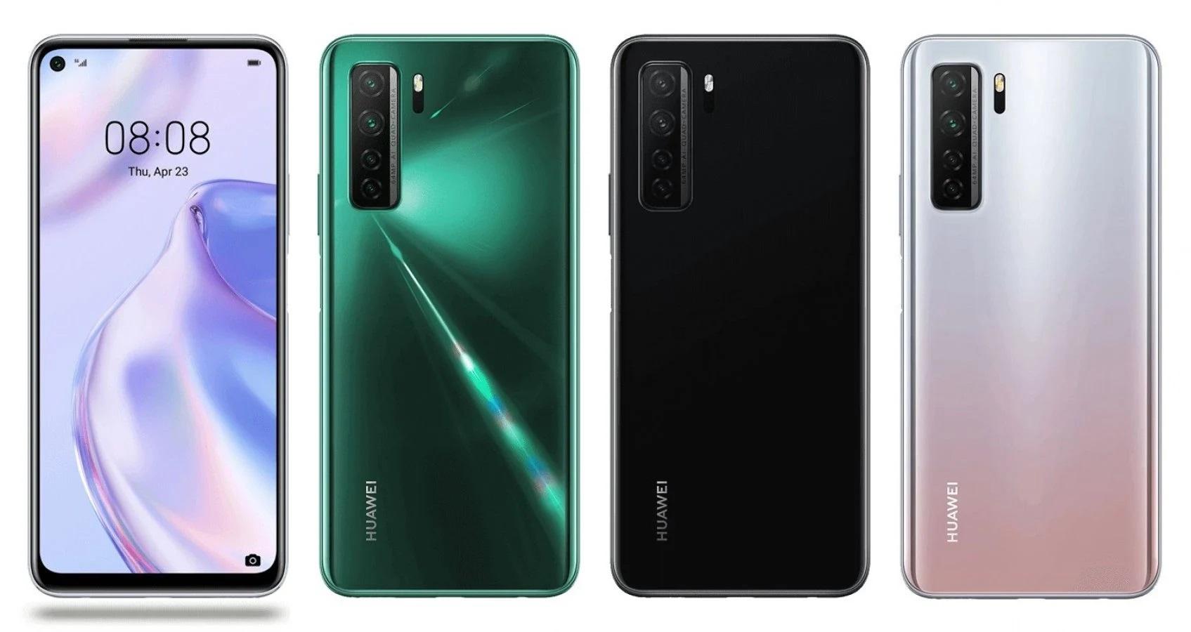 Huawei P40 Lite 5G farby