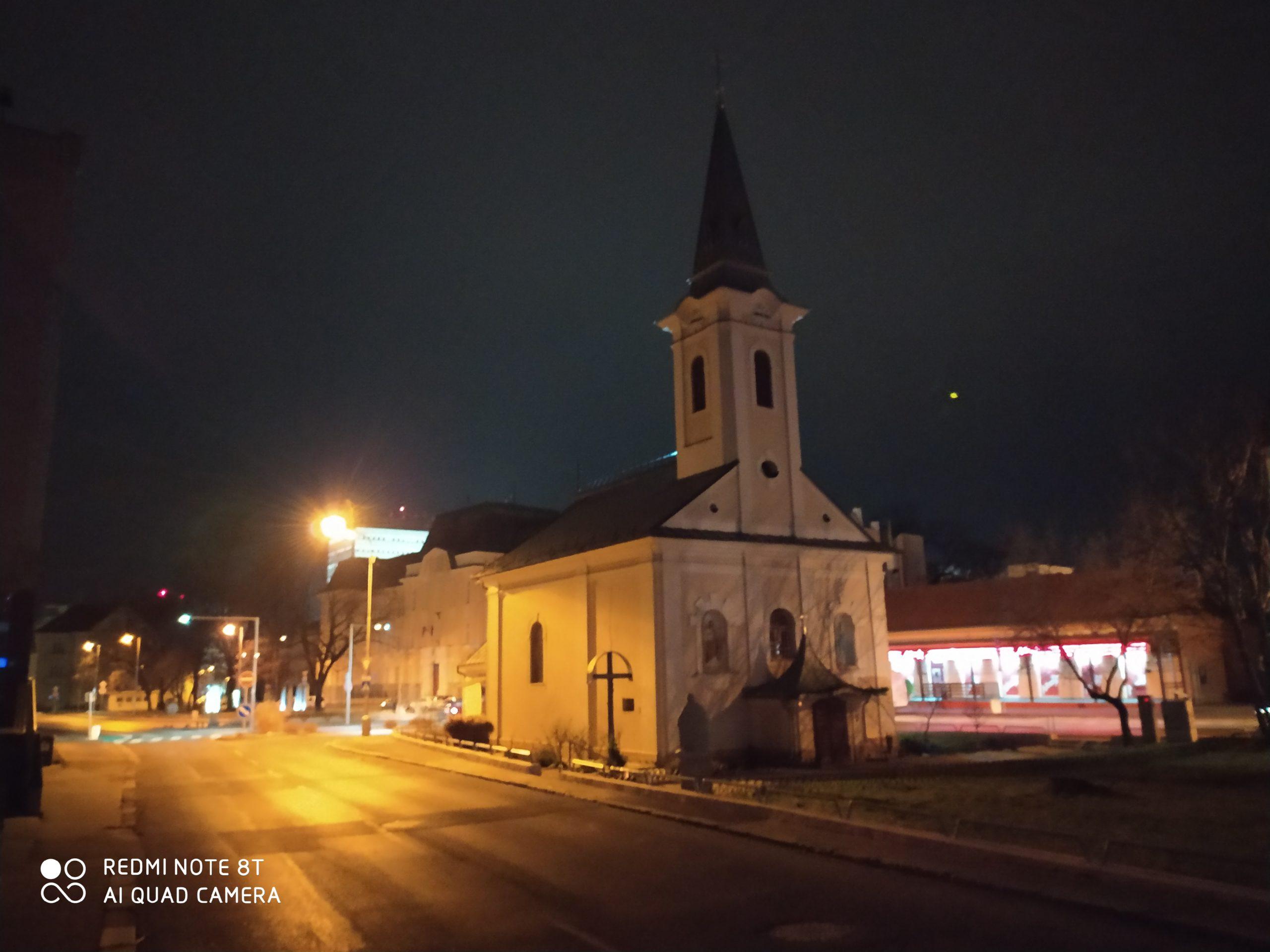 Redmi Note 8T nočný snímok AI