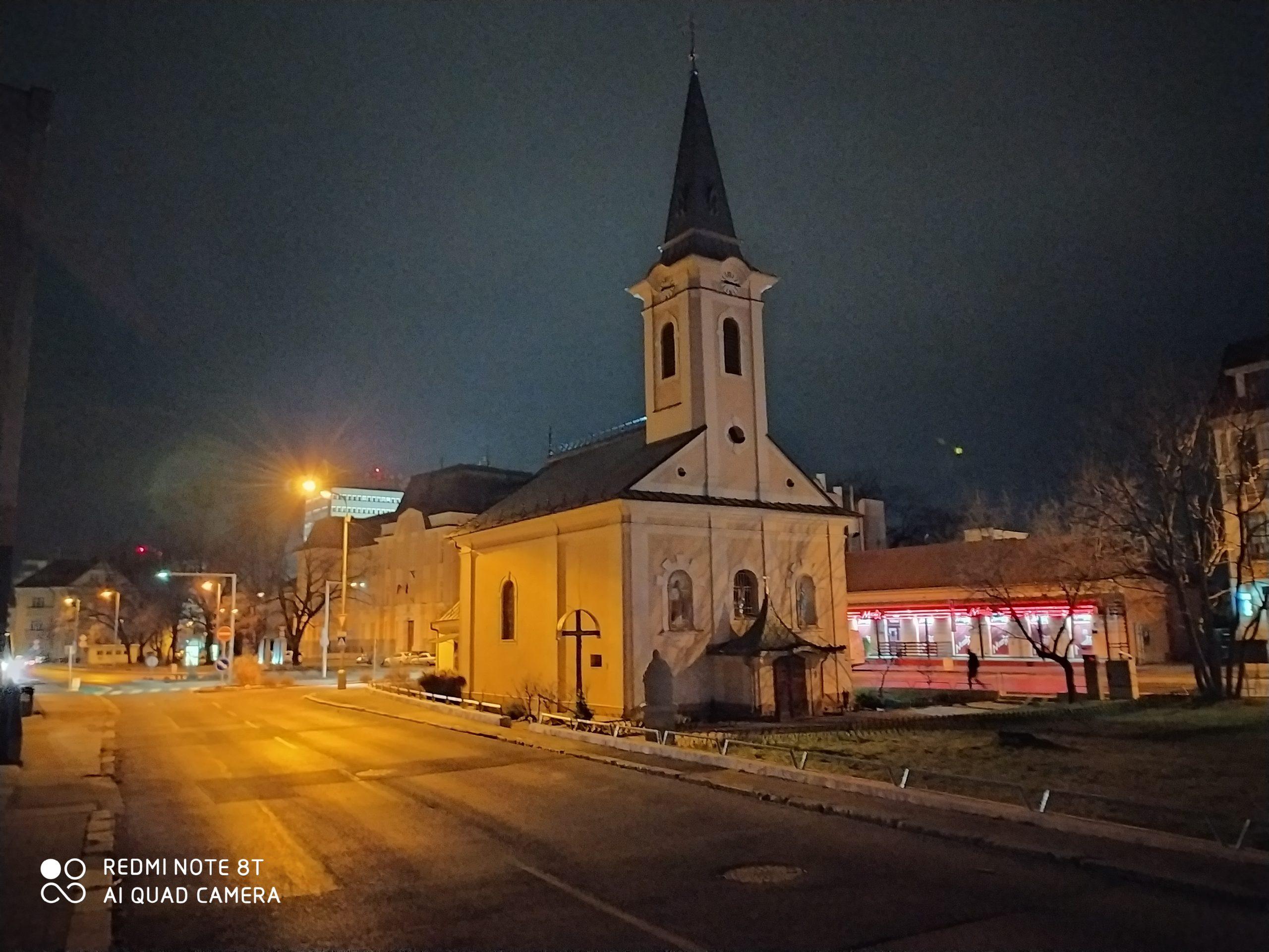 Redmi Note 8T nočný snímok nočný režim