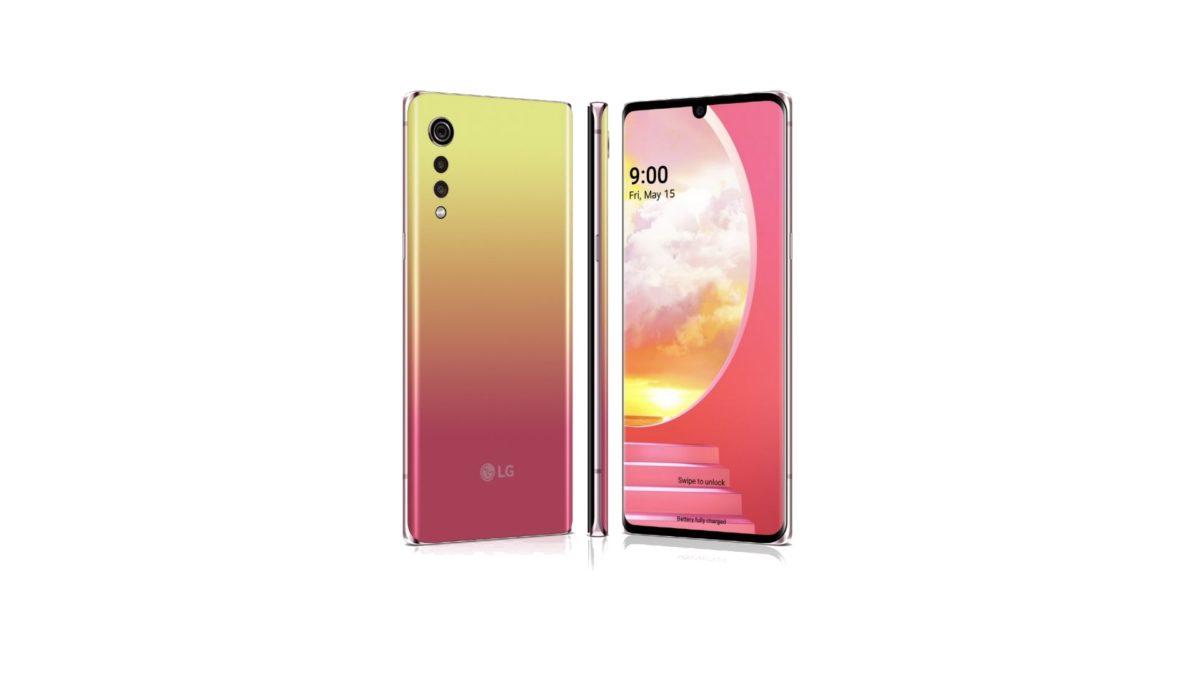 LG Velvet ponúka farebný variant, ktorý nazýva západ slnka.