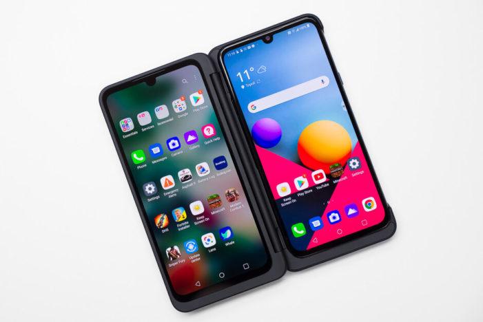 LG Poľsko odpromovalo takýto Dual Screen trochu neprimerane.