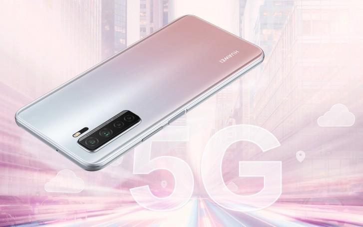 Huawei P40 Lite 5G strieborný