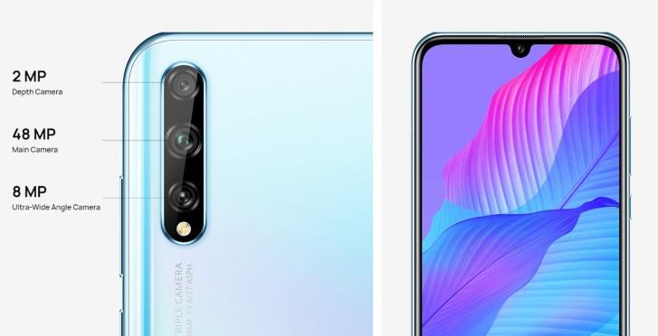 Huawei Y8p fotoaparát
