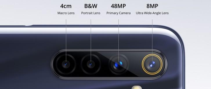 Realme 6s fotoaparát