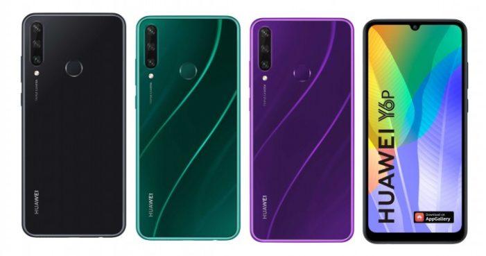 Huawei Y6p farby