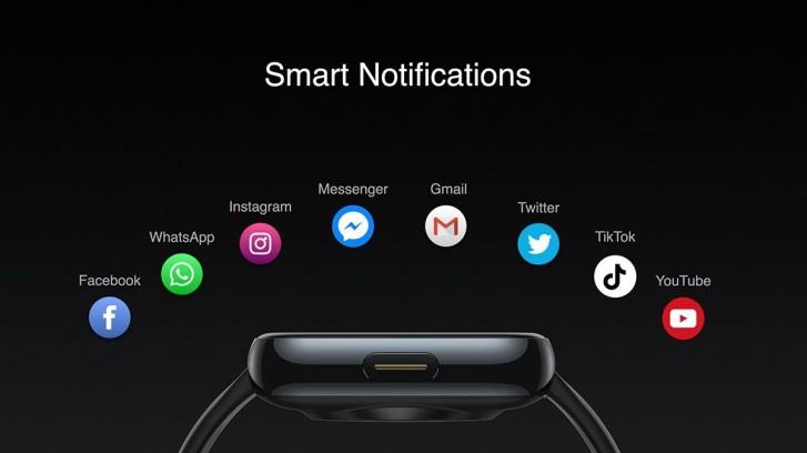 Realme Watch smart notifikácie