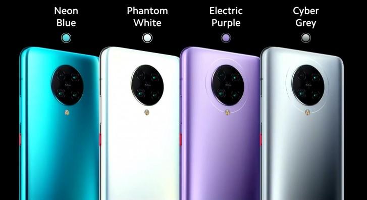 Poco F2 Pro farby