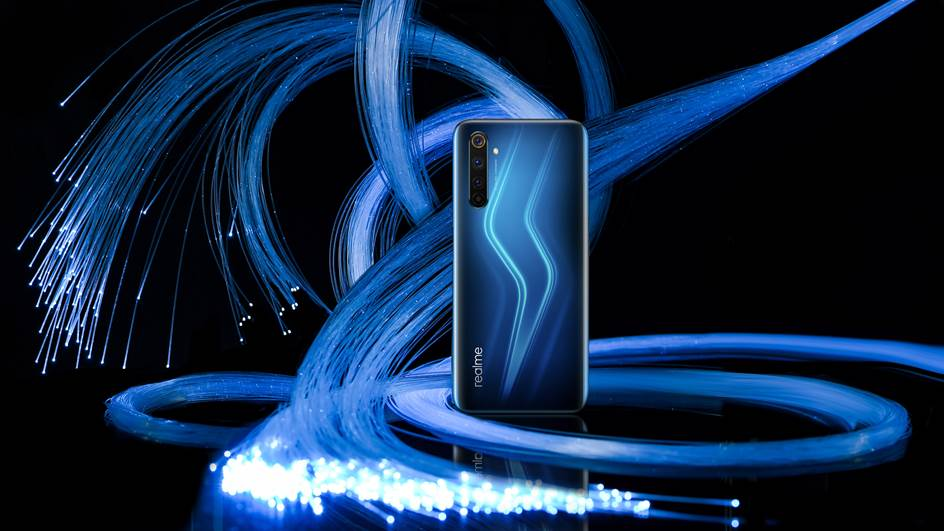 Realme 6 Pro modrá farba