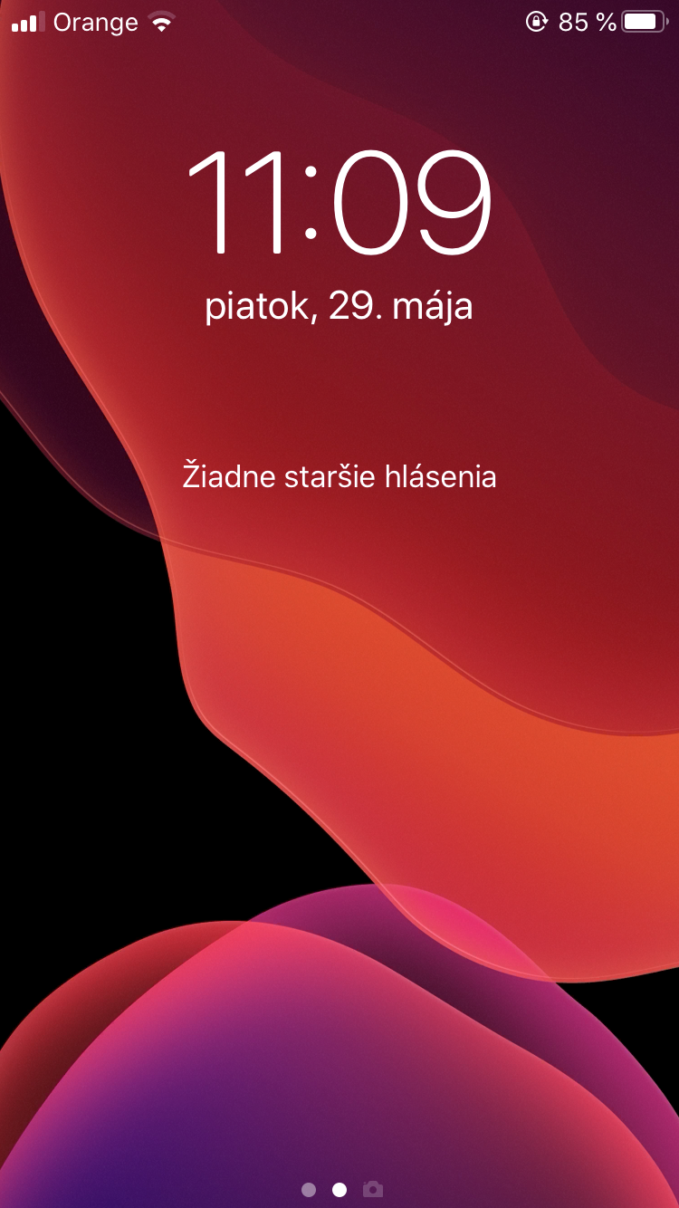 iphone se centrum hlásení