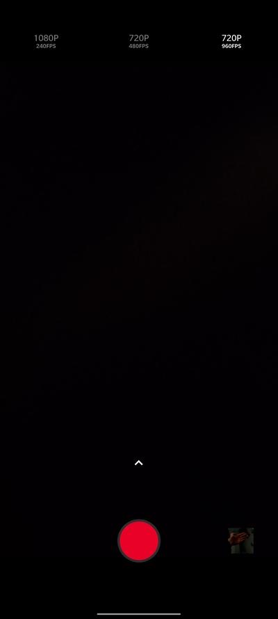 OnePlus 7T fotoaparát aplikácia spomalené videá