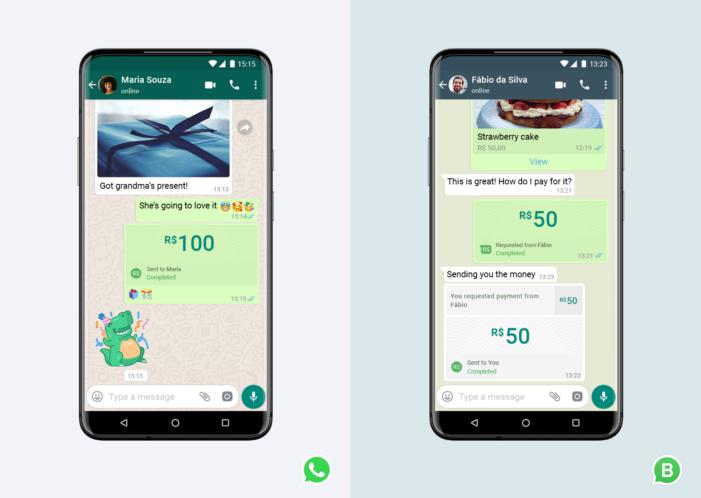 platenie firmám WhatsApp