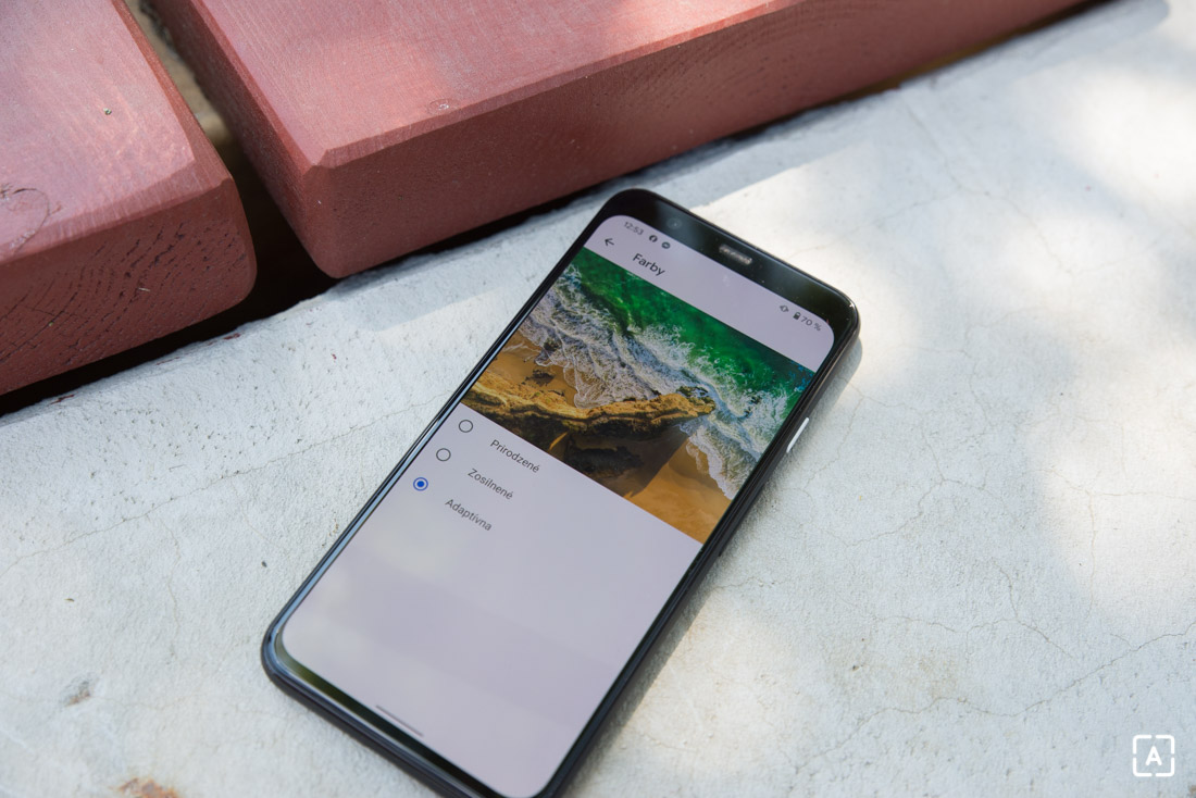 Google Pixel 4 displej