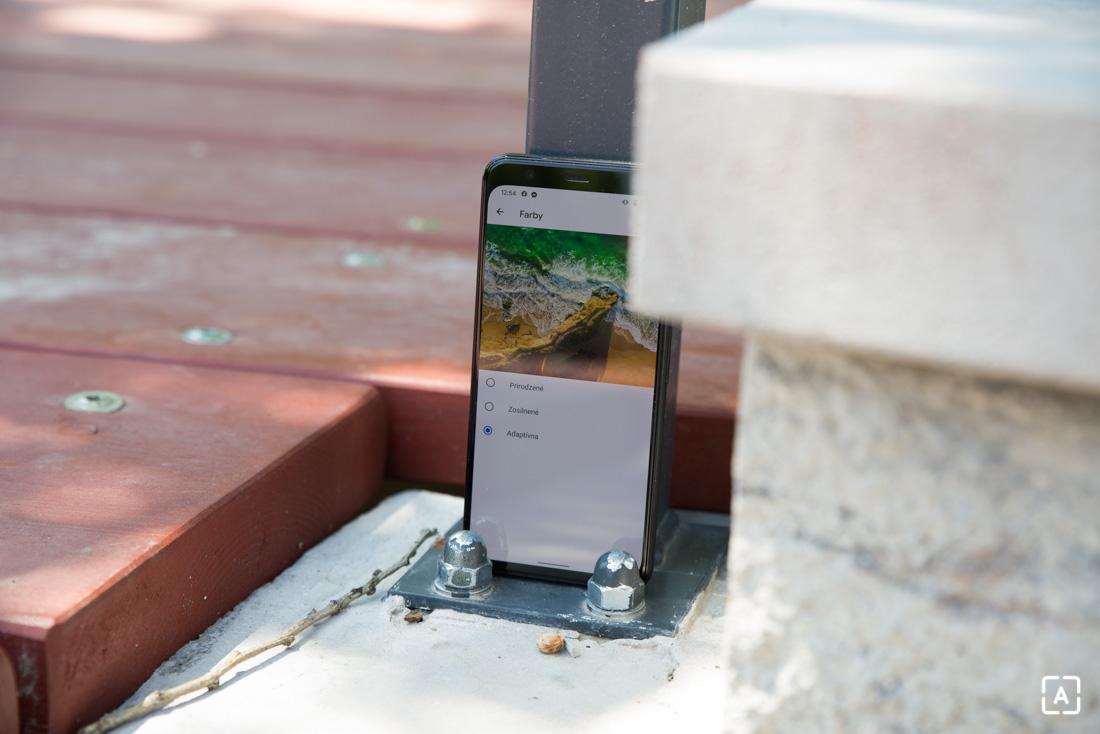 Google Pixel 4 nastavenia displeja