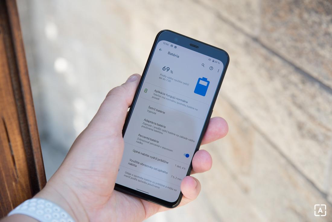 Google Pixel 4 bateria
