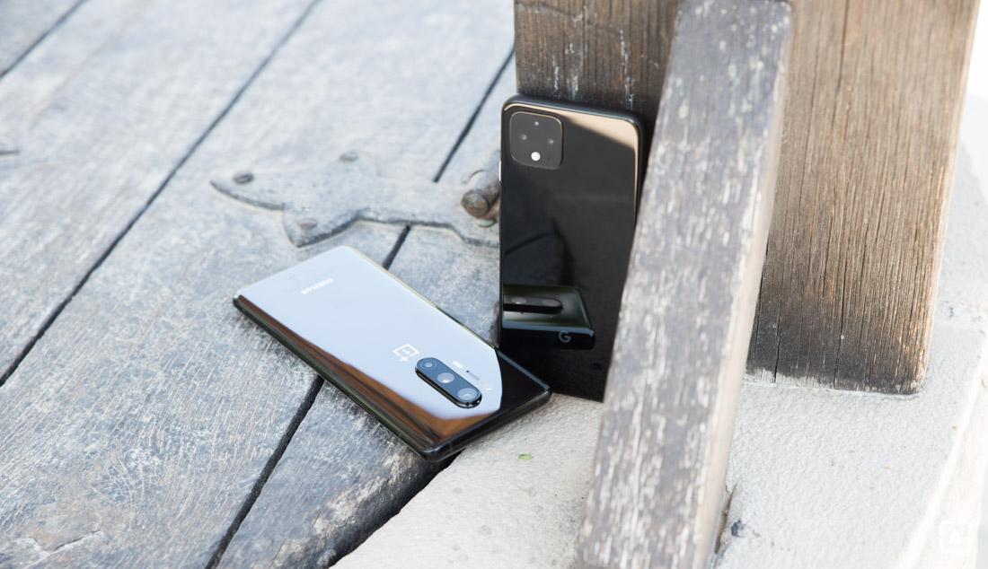 Google Pixel 4 vs OnePlus 8 Pro