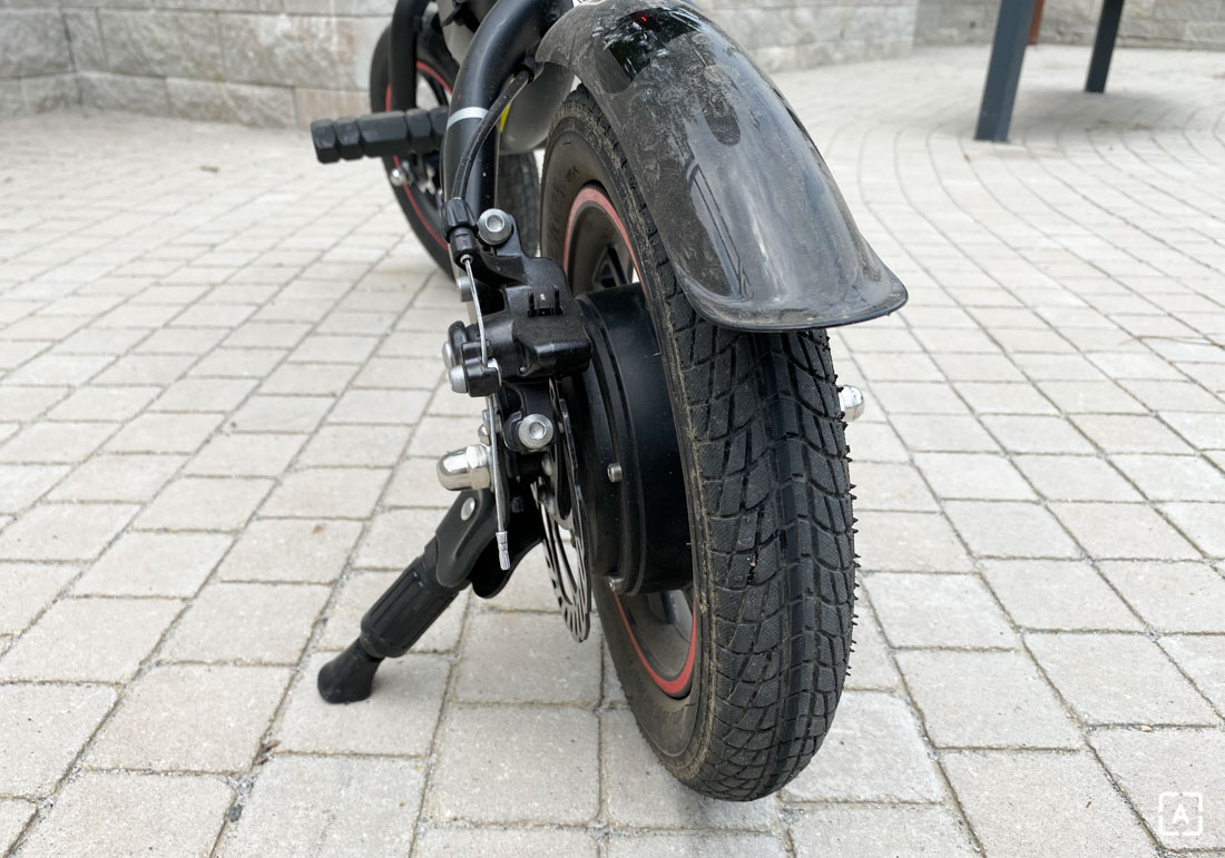 Kugoo Kirin B1 zadne koleso brzda