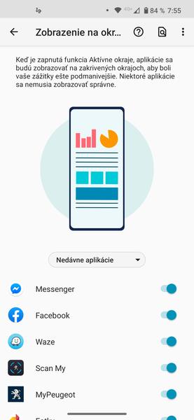Motorola edge+ screenshot