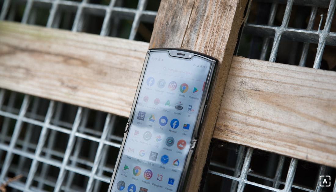 Motorola razr displej