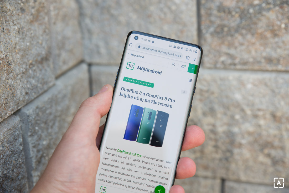 OnePlus 8 Pro internet